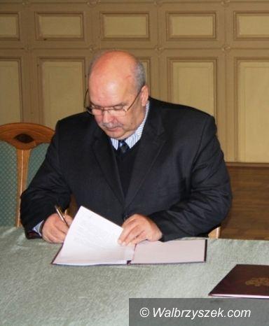 Wałbrzych: Bogusław Rogiński złożył rezygnację