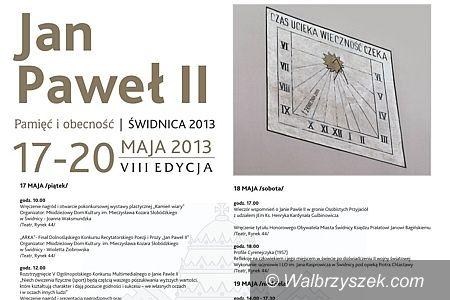 Świdnica: Dni Papieskie 2013 w Świdnicy