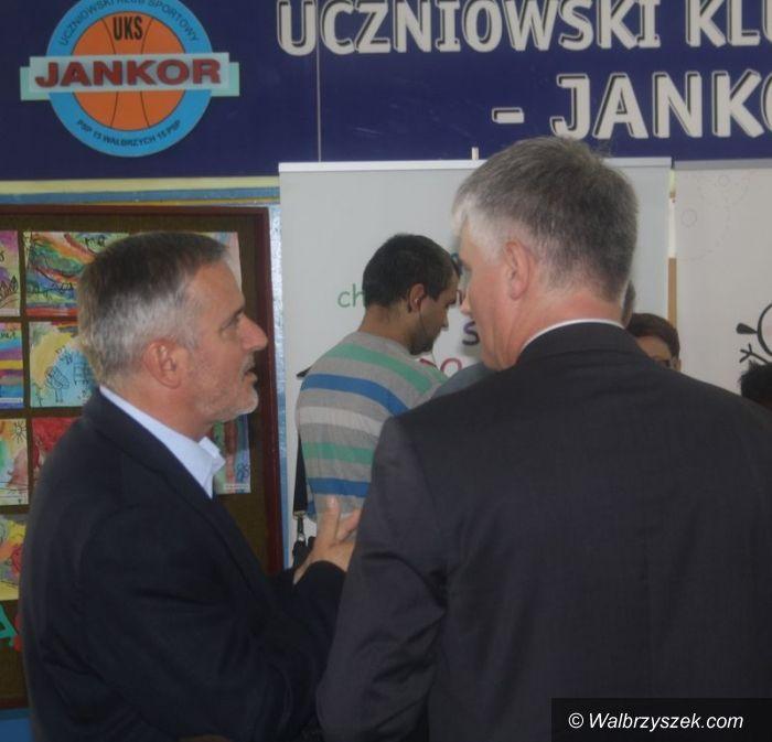 Wałbrzych: Joanna Berdzik z Ministerstwa Edukacji Narodowej przekonywała do reformy oświaty