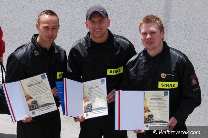 Region: Strażacy odznaczeni w Głuszycy