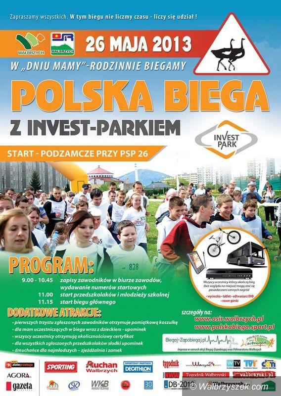 """Wałbrzych: Akcja """"Polska Biega"""" dotarła do Wałbrzycha"""