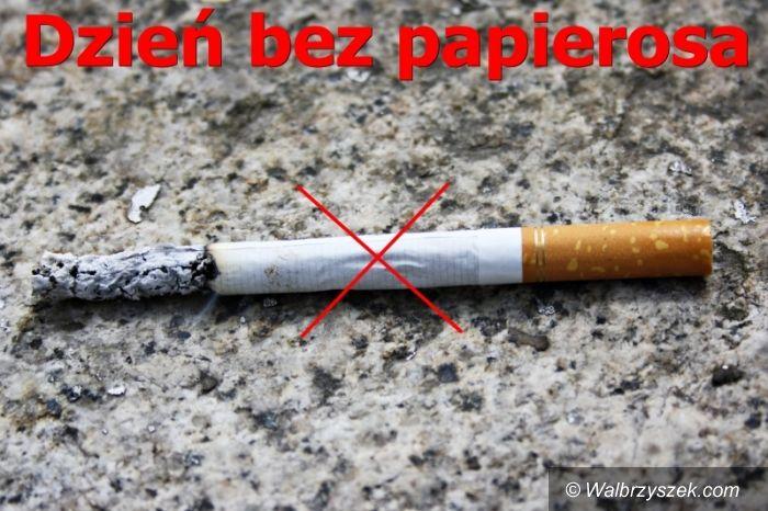 Wałbrzych: Dzień bez papierosa