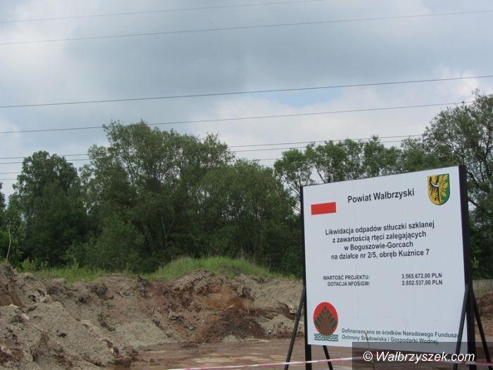 Region: Stłuczka rtęciowa wywożona z Boguszowa–Gorc