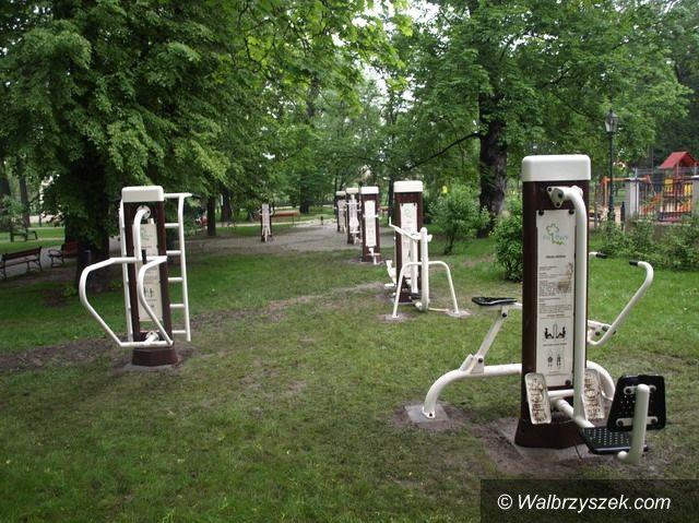 Świebodzice: Można trenować jak na prawdziwej siłowni