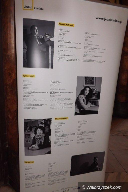 """Wałbrzych: Otwarcie wystawy podsumowującej projekt """"Jedni z wielu"""""""