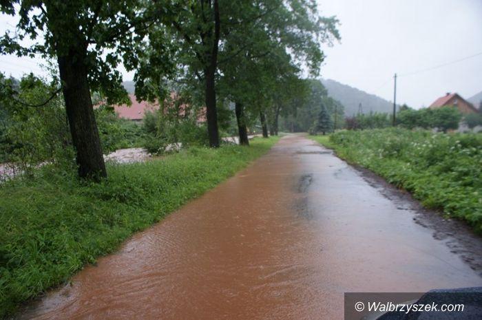 Region: W powiecie wałbrzyskim ogłoszono pogotowie przeciwpowodziowe