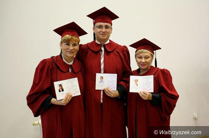 Wałbrzych: Wręczenie Dyplomów WWSZiP