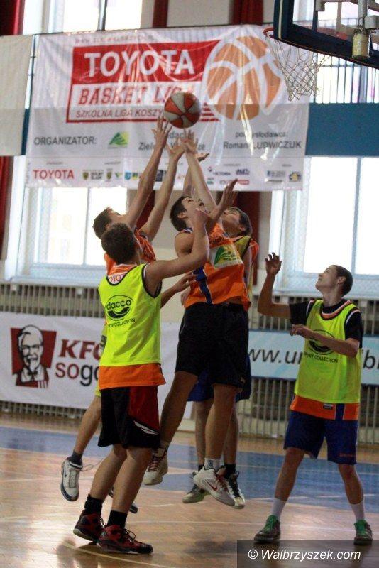 Wałbrzych: Toyota Basket Liga – Szkolna Ligi Koszykówki 2013/2014