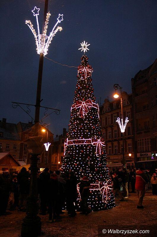 Wałbrzych: Mikołaj na Rynku