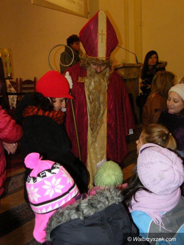 Wałbrzych: Mikołajki w Parafii św. Jerzego i Matki Bożej Różańcowej w Wałbrzychu