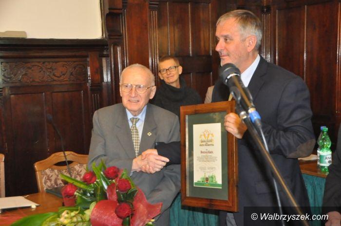 Wałbrzych: Bogdan Król odebrał tytuł