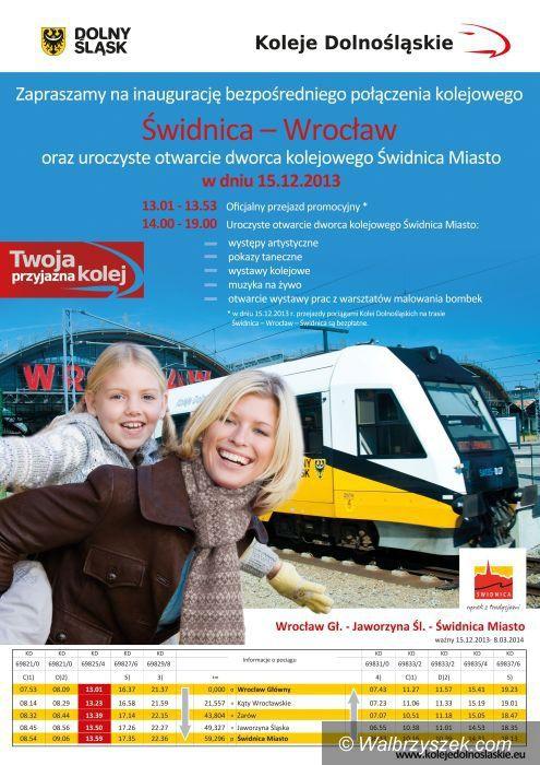 Region: Nowy dworzec w Świdnicy od niedzieli otwarty dla podróżnych