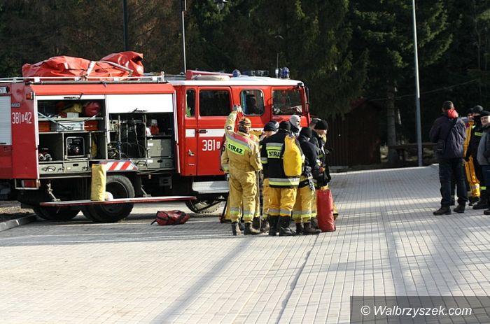 REGION, Boguszów-Gorce: Strażacy na Dzikowcu