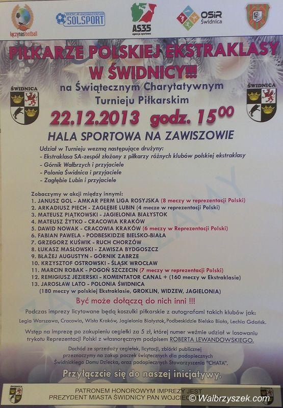 REGION: Plejada piłkarzy z polskiej ekstraklasy zagra w Świdnicy!