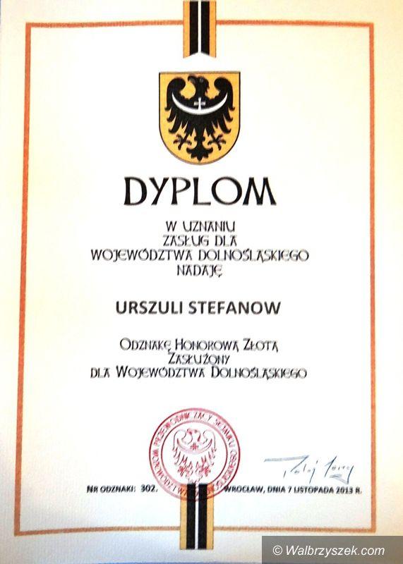Wałbrzych: Honory dla działaczy Oddziału Ziemi Wałbrzyskiej PTTK w Wałbrzychu