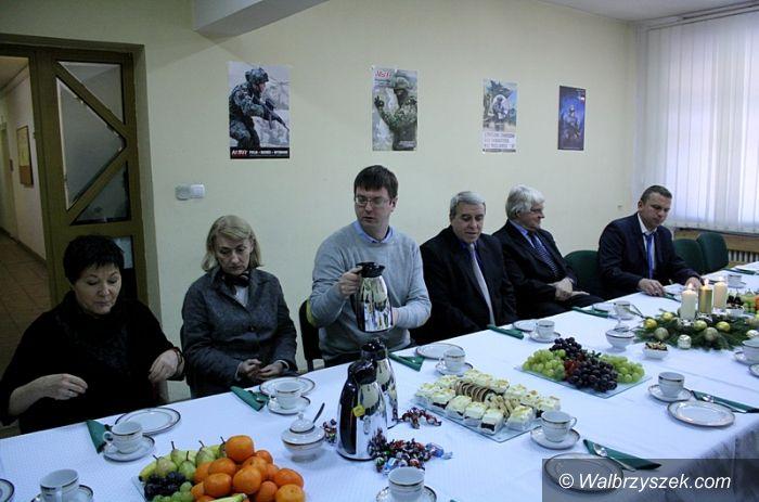 Wałbrzych: Spotkanie wigilijne w Starostwie