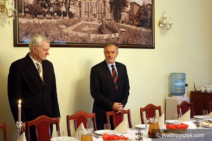 Wałbrzych: Spotkanie Prezydenta z dziennikarzami