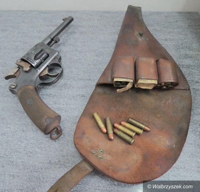 Wałbrzych: Broń z 1892 roku w Wałbrzychu