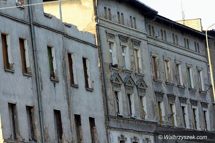 Wałbrzych: Na Wrocławskiej coraz mniej budynków