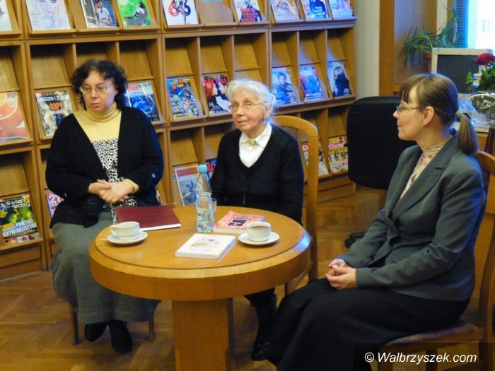 Wałbrzych: Zofia Hadaj Cieślińska w Bibliotece pod Atlantami
