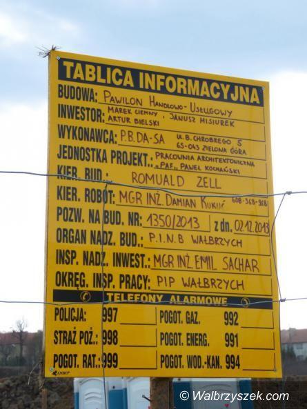 Wałbrzych: Nowy market powstaje na Piaskowej Górze