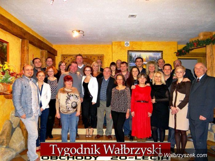 Wałbrzych: Obchody 20–lecia Tygodnika Wałbrzyskiego