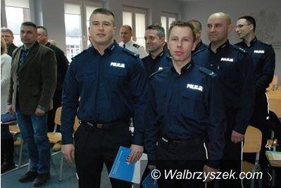 Wałbrzych: Policjanci ratowali życie