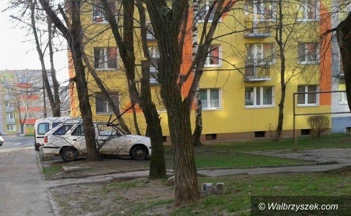 Wałbrzych: Karne naklejki za złe parkowanie także w Wałbrzychu