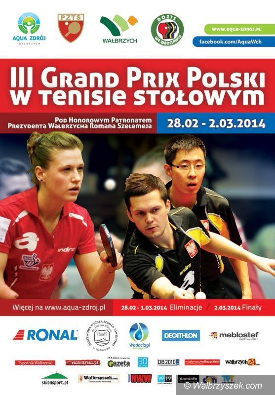 Wałbrzych: Już wkrótce III Grand Prix Polski w Tenisie Stołowym