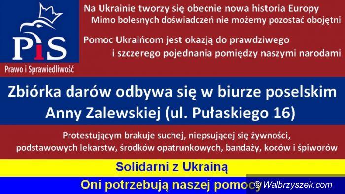 Region: W Świdnicy rusza zbiórka darów dla Ukrainy