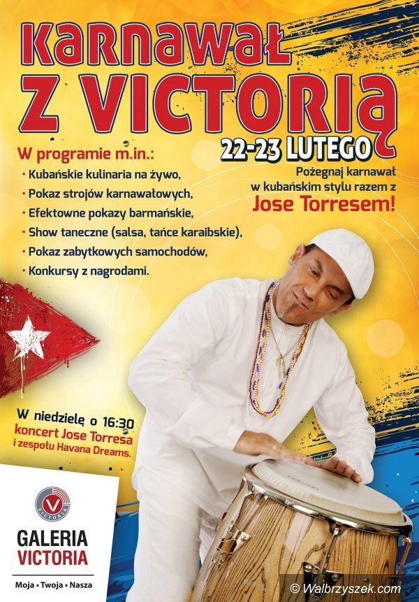 Wałbrzych: Karnawał z Victorią i Jose Torresem!