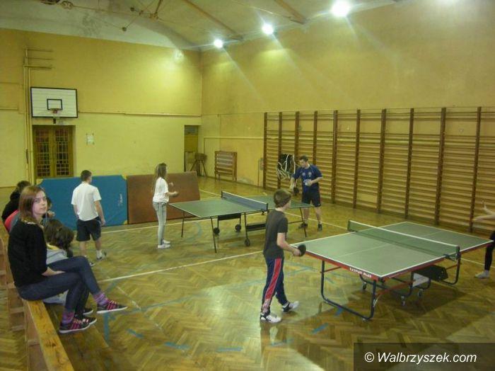Wałbrzych: III walentynkowy turniej tenisa stołowego za nami