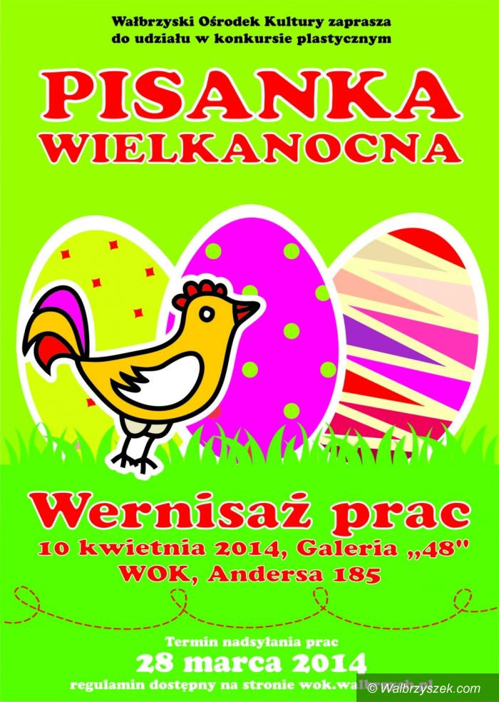 """Wałbrzych: Konkurs plastyczny """"Pisanka Wielkanocna"""""""