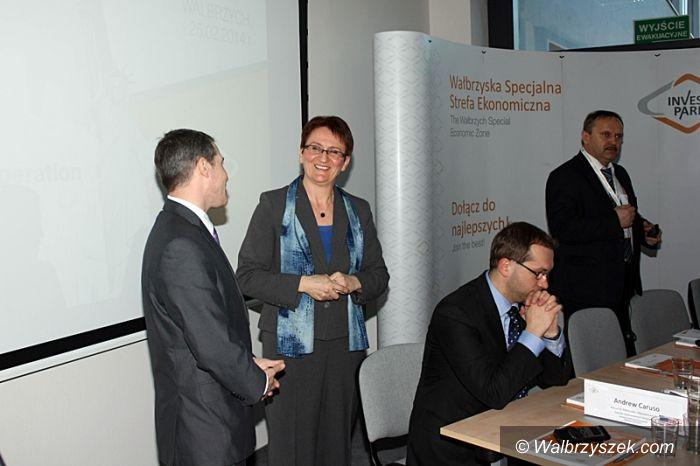 Wałbrzych: Pierwsze spotkanie amerykańskich inwestorów w WSSE
