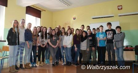 REGION, Boguszów-Gorce: Studenci z Holandii w Gimnazjum nr 1 w Boguszowie – Gorcach