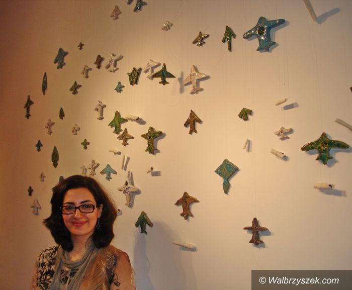 Wałbrzych: Irańskie artystki w bibliotece
