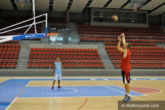 Wałbrzych: Koszykarze trenują w naszym mieście