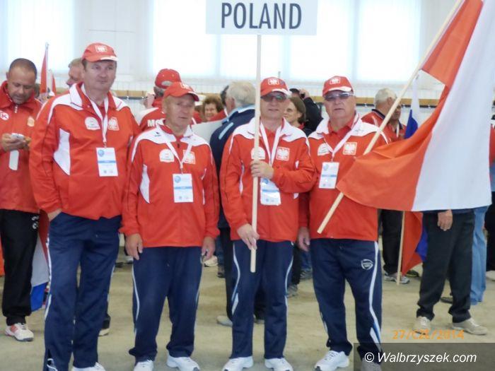Wałbrzych: Mistrzostwa Europy weteranów w bule