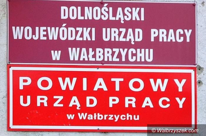 Wałbrzych/powiat wałbrzyski: Bezrobocie stale spada