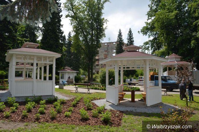 Walim: Rewitalizacja parku w Walimiu
