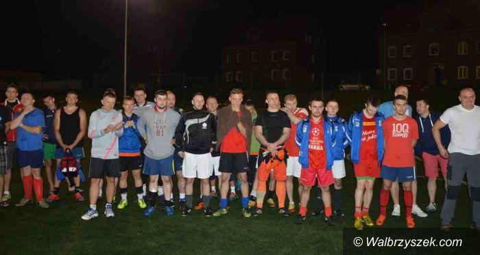 Głuszyca: Nocny Turniej Piłki Nożnej w Głuszycy