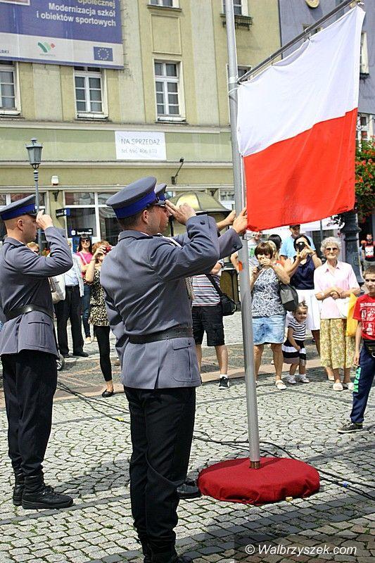 Wałbrzych: Święto policji na wałbrzyskim Rynku
