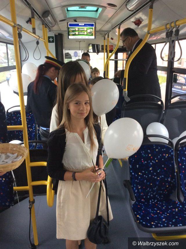 Wałbrzych/REGION: Autobus miejski z Wałbrzycha do Walimia i Głuszycy już na trasie