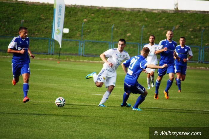 Wałbrzych: II liga piłkarska: Z Przerywaczem na ławce przeciwko Energetykowi