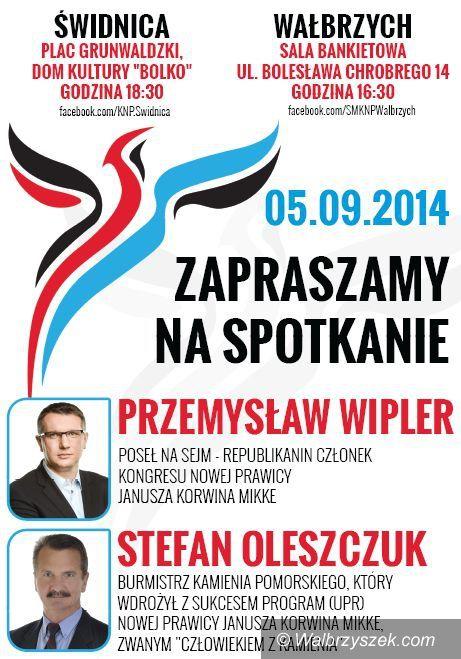 Wałbrzych: Kto będzie kandydatem Kongresu Nowej Prawicy na prezydenta Wałbrzycha?