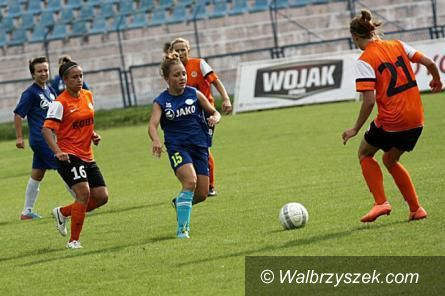 Wałbrzych: I liga piłki nożnej kobiet: Kolejna wygrana wałbrzyskich akademiczek