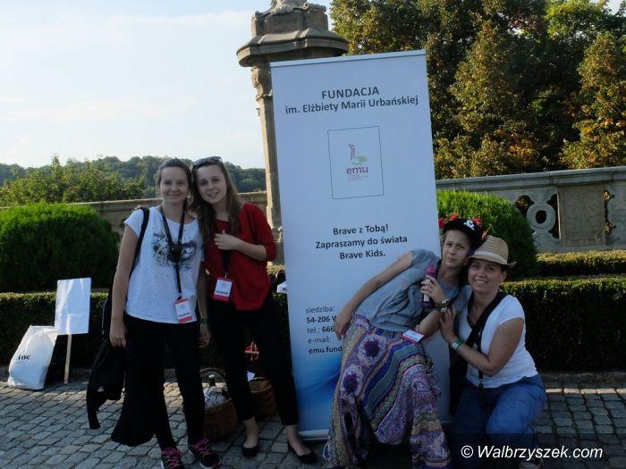 Wałbrzych: Przedstawiciele Brave Kids zawitali na Dni Wałbrzycha oraz na Piknik w Książu