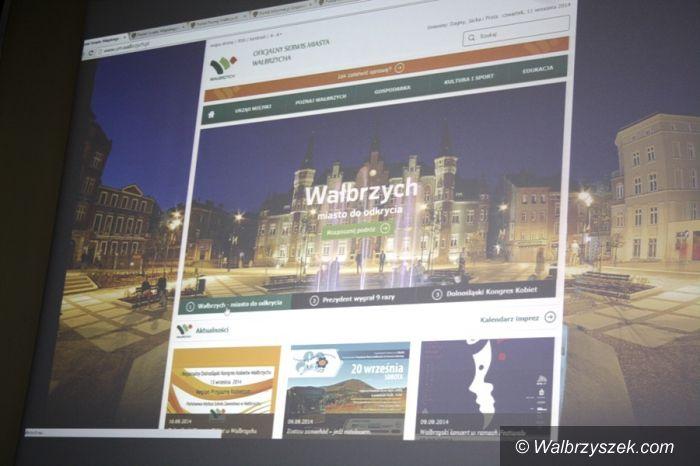 Wałbrzych: Urząd Miasta ma nową stronę internetową