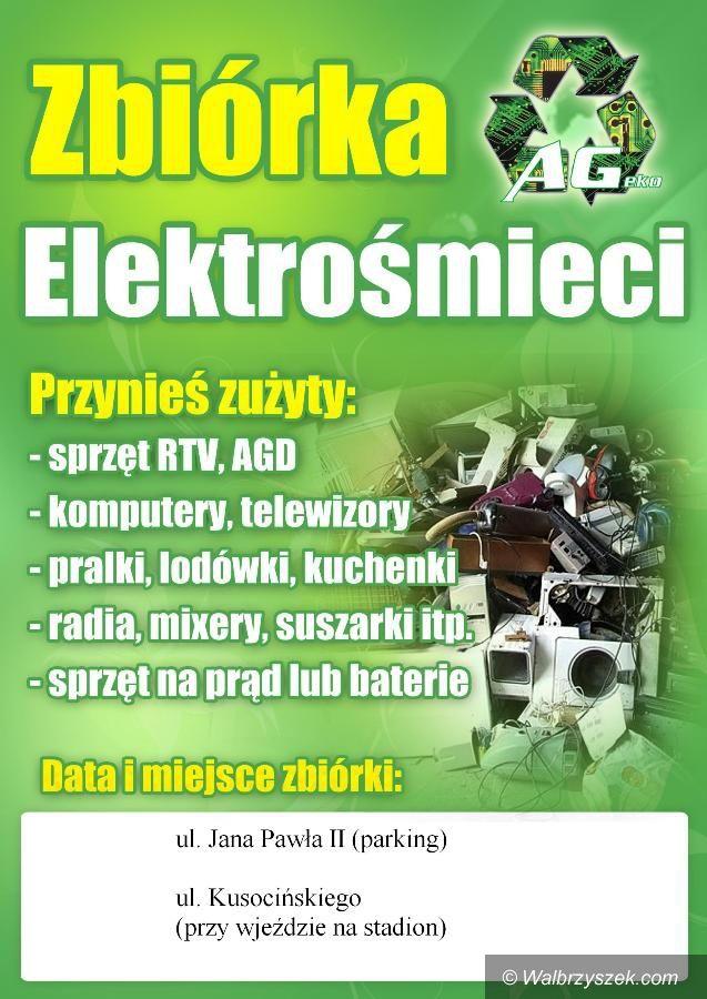 Wałbrzych: Zbiórka elektroodpadów