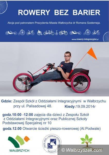 Wałbrzych: Rower bez barier na Podzamczu